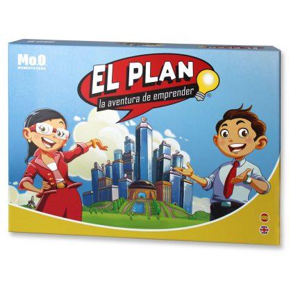 Juego El Plan: la aventura de emprender bilingüe