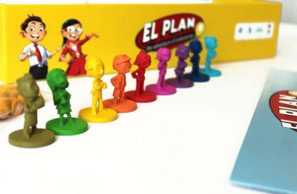 Juego El Plan bilingue - Personajes